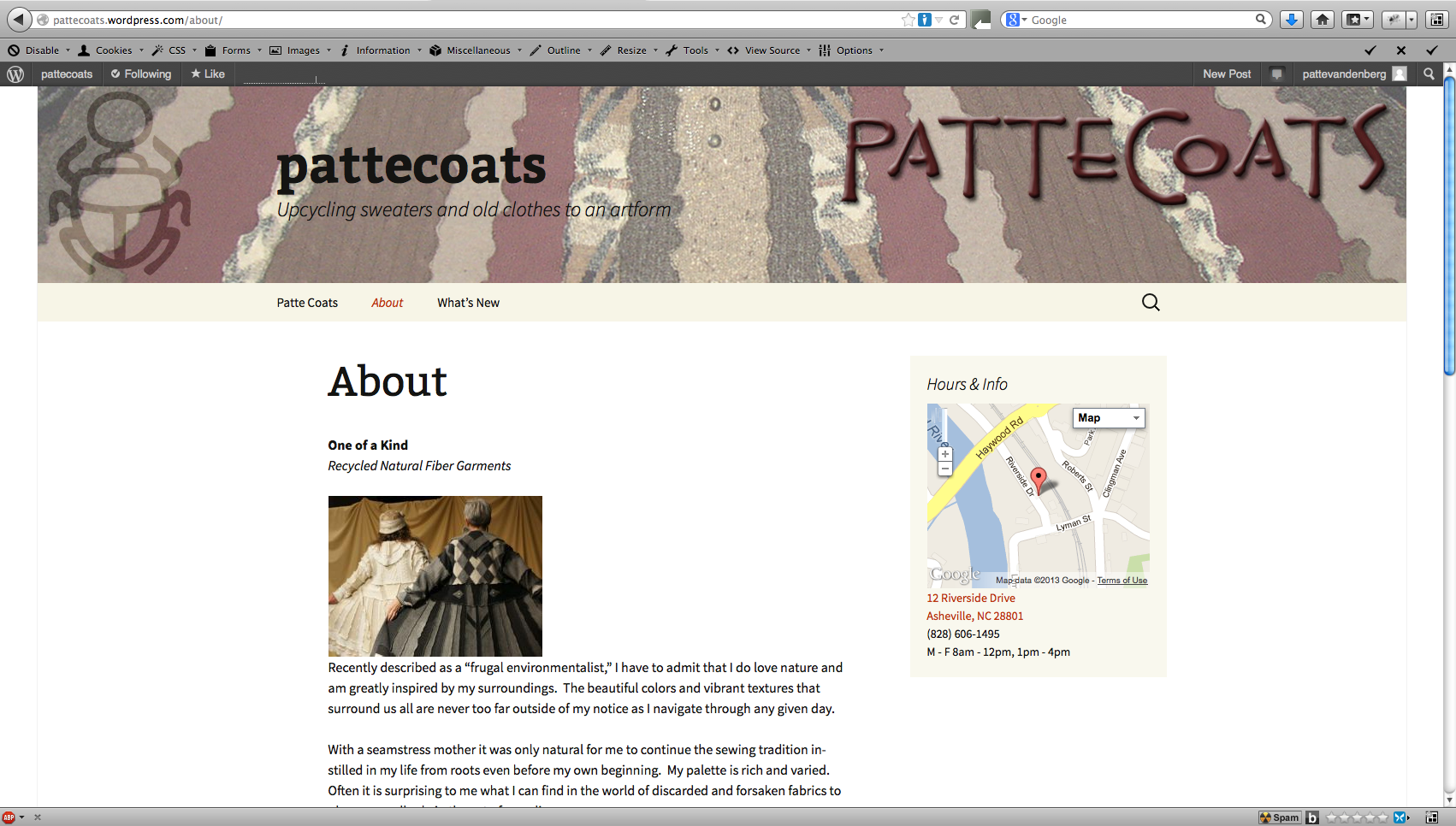 pattecoats-about