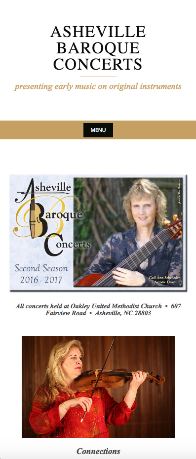 Asheville Baroque Concert Series mobile view