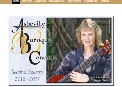 Asheville Baroque Concert Series