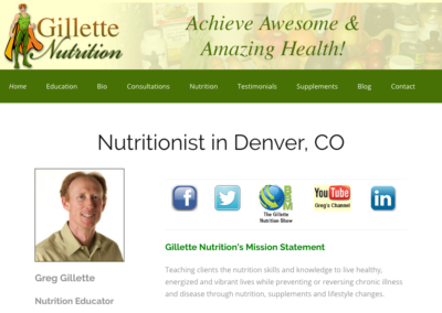 Gillette Nutrition