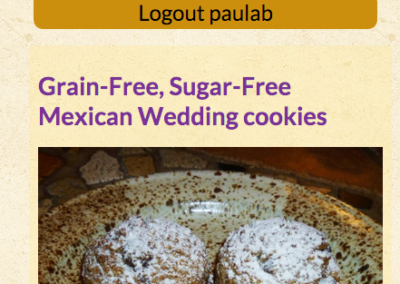 Paula's Kitchen Alchemy recipe mobile view