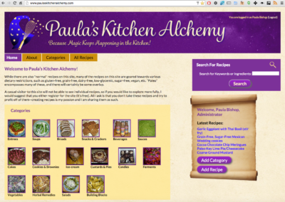 Paula's Kitchen Alchemy