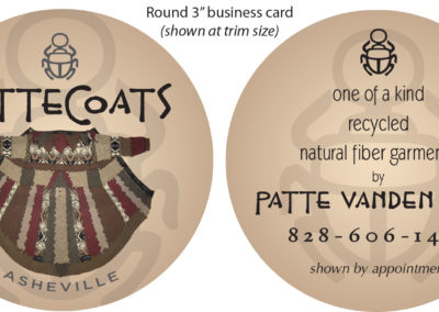 PatteCoats Business Card Round