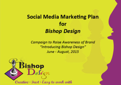 Social Media Marketing plan presentation