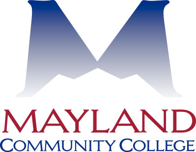 Mayland logo with gradient vertical