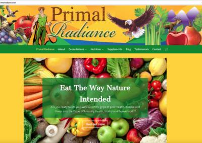 Primal Radiance (Rebranding Gillette Nutrition)